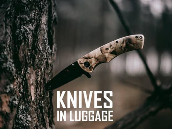 knives in checked baggage cover image