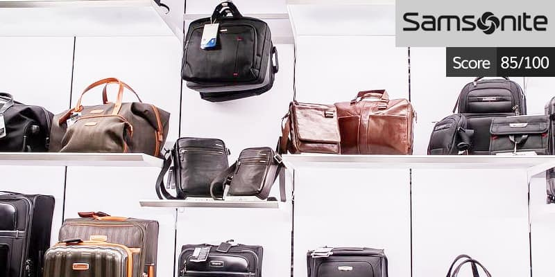 Samsonite luggage review: 85 out of 100