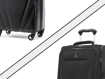 luggage materials guide hardside vs softside