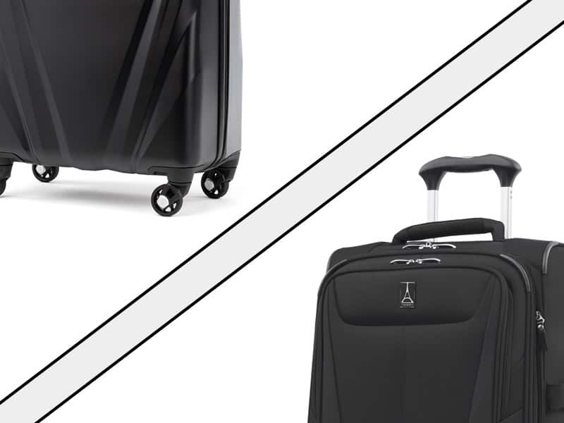 56333ec11 Luggage Material Guide: Hard vs Soft (ABS, PC, Polyester, Nylon)
