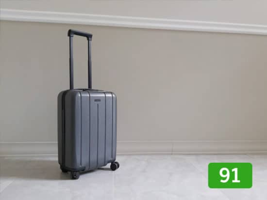 Chester luggage review: 91 out of 100