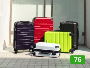 Coolife luggage review: 76 out of 100