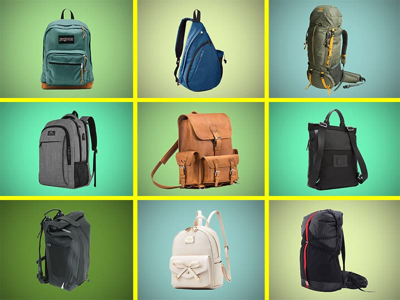 Different types of backpacks compared