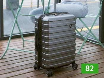 Travelker's choice luggage review: 82 out of 100